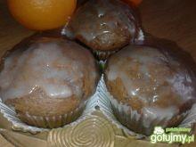 Muffiny pomarańczowe z czekoladą