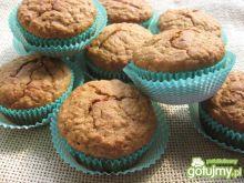 Muffiny razowe z miodem