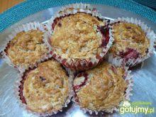 Muffiny truskawkowe.