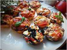 Muffiny warzywno makaronowe