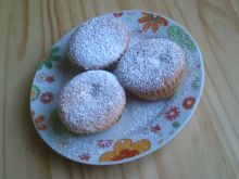 Muffiny z brzoskwinią