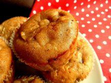 Muffiny z cappucino z bananami i czekoladą
