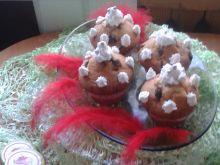 Muffiny z czekoladą i bitą śmietaną