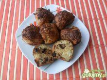 Muffiny z czekoladą i owocami