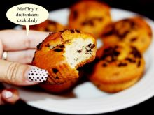 Muffiny z drobinkami czekolady