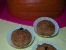 Muffiny z dynią, rodzynkami i orzechami