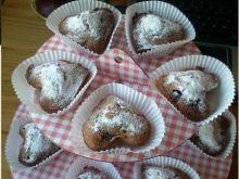 muffiny z dżemem porzeczkowym