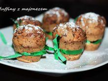 Muffiny z majonezem i tartą czekoladą