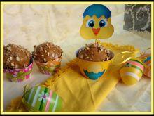 Muffiny z orzechami i kajmakiem