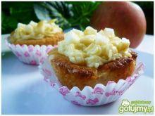 Muffiny z prażonymi jabłkami