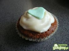 Muffiny z pyszną białą chmurką