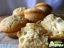 Muffiny z serem twarogowym