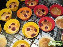 Muffiny z wiśniami 2