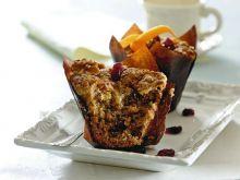 Muffiny z żurawiną