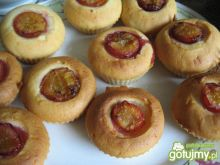 Muffiny ze śliwką
