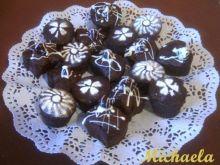 Mufinki czekoladowo - wiśniowe