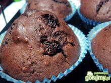 Mufinki mocno czekoladowe