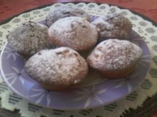 Mufinki z rodzynkami i jabłkiem dla Damy
