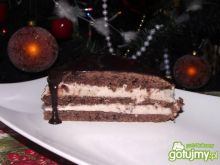 Murzynek z kakaową bitą śmietaną