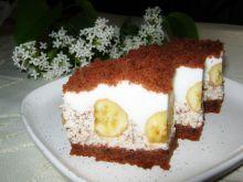 Murzynkowe ciasto z bananami