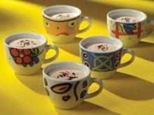 Mus kawowy z piankami Flowers