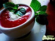 Mus truskawkowa słodycz