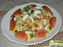Muszelki w salatce