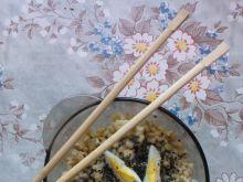 Musztardowa sałatka z kaszy pęczak