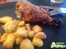 Musztardowe podudzia z kurczaka