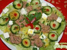 Na zielono z tuńczykiem