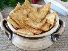 Nachosy z tortilli
