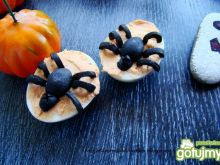Nadziewane jajka Halloween