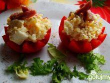 Nadziewane pomidorki sałatką ryżową