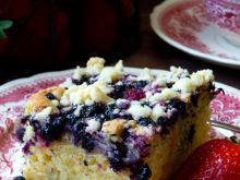 Najlepsze ciasto ucierane z owocami
