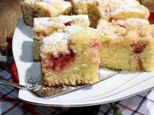 Najprostsze ciasto z truskawkami i kruszonką