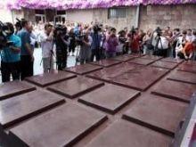 Największa czekolada na świecie!