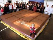 Największa tabliczka czekolady