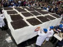 Największy tort lodowy na świecie!