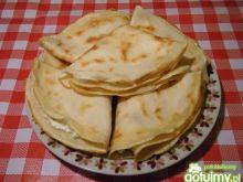 Naleśniki cytrynowe nadziewane serem