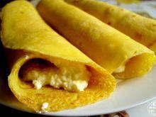 Naleśniki kukurydziane z serem