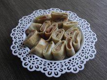 Naleśniki na słodko z dżemem truskawkowym