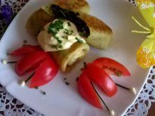 Naleśniki nadziewane szpinakiem i serem feta