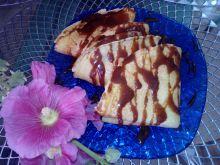 Naleśniki sezamowe z czekoladą