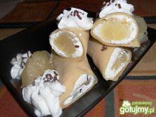 Naleśniki toffi z twarożkiem i pomelo