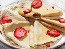 Naleśniki truskawkowe (ciasto z truskawkami)