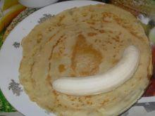 Naleśniki z bananami - zapiekane - 2