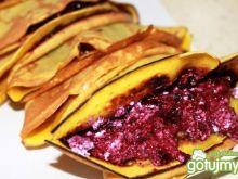 Naleśniki z curry jagodami i serem
