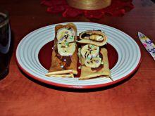 Naleśniki z czekoladą i banananem