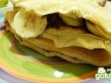 Naleśniki z czekoladą i bananem
