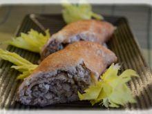 Naleśniki z farszem mięsnym z rosołu